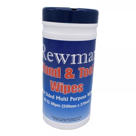 Rewmar Hand and Tool Wipes