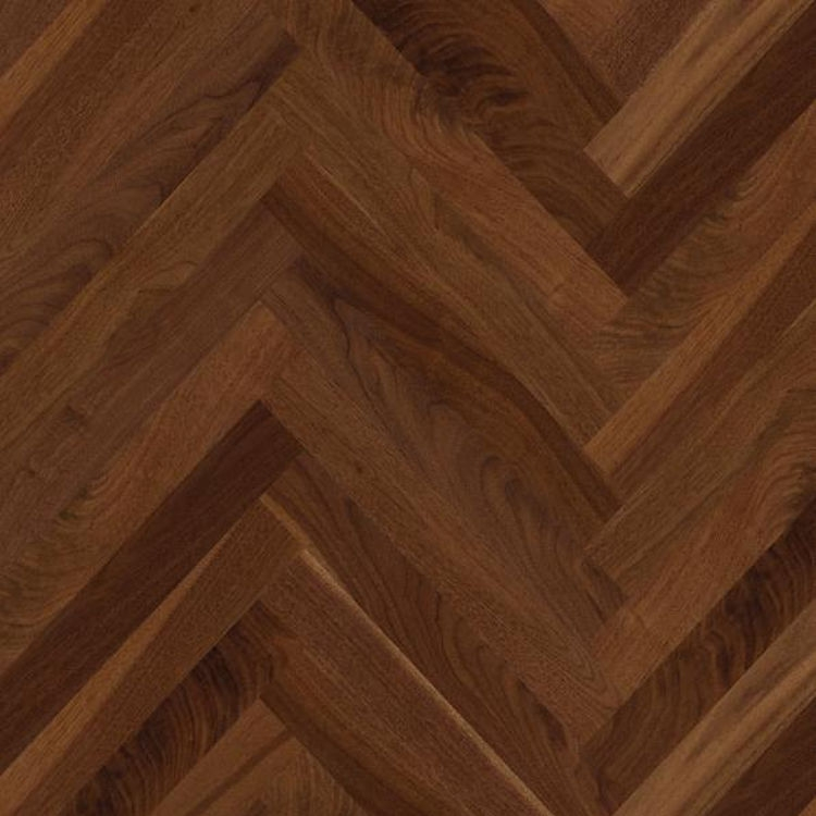 Walnut Nature Design Stripsboen Herringbone Parquet Wood Floors