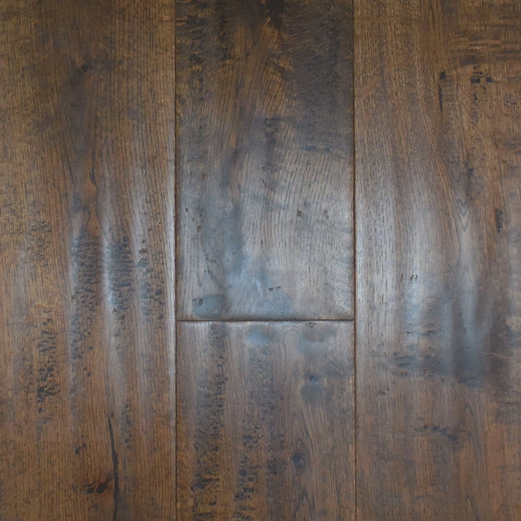 Solid Antique Stained Oak Plank